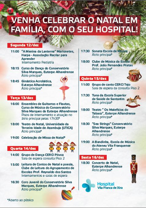 hospital-de-vila-franca-de-xira-Hospital Vila Franca de Xira convida a comunidade para a celebração do Natal
