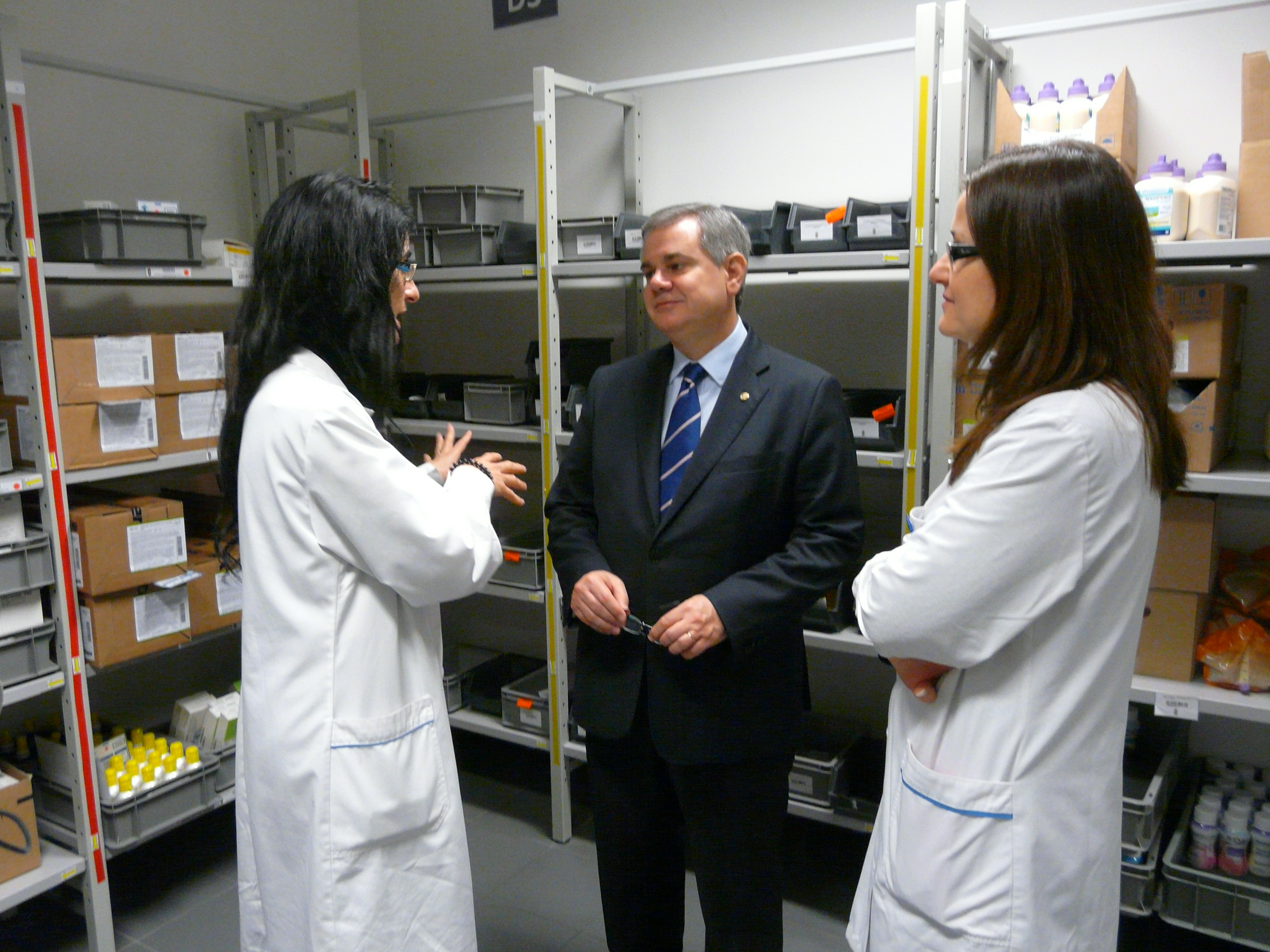 hospital-de-vila-franca-de-xira-Hospital Vila Franca de Xira recebe visita do Bastonário da Ordem dos Farmacêuticos